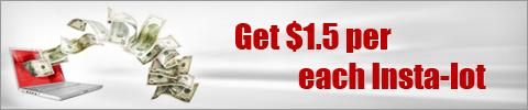 Forex Cashback Rebate - get $1.5 per each Insta-lot!